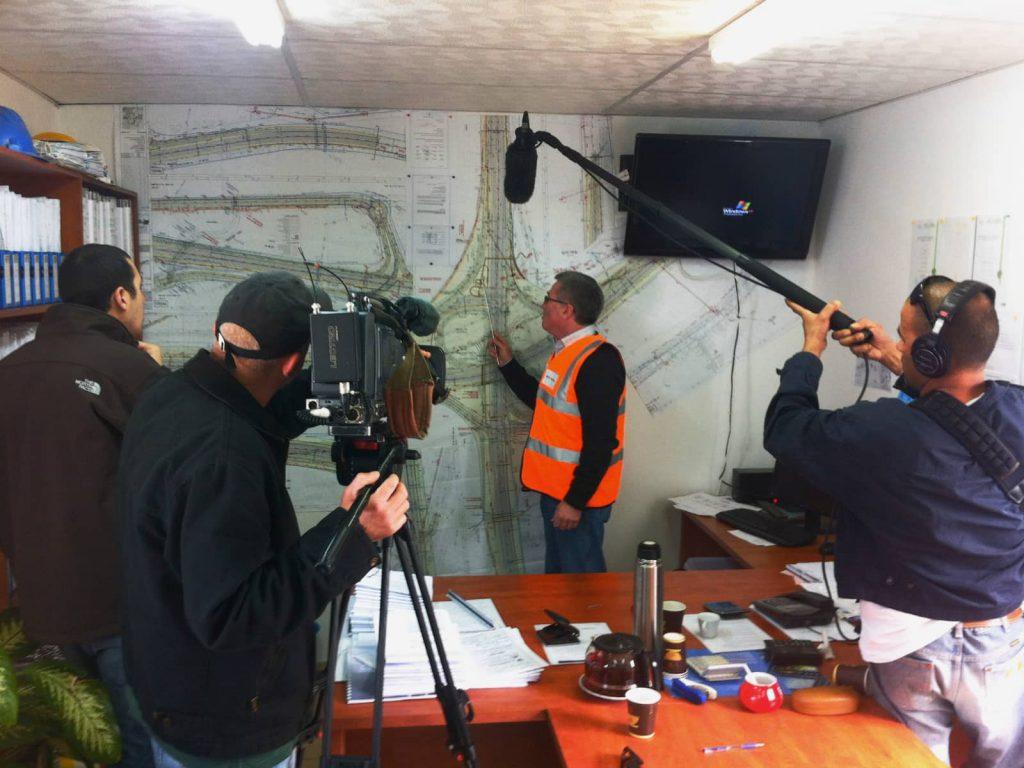 כתבה לערוץ 2: מחלף גולני, נתיבי ישראל